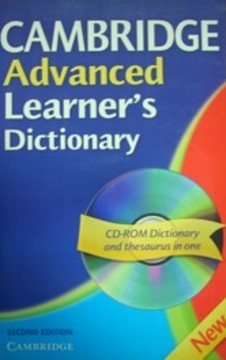 Cambridge Advanced Learner's Dictionary /30922/