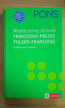 Współczesny słownik francusko-polski polsko francuski