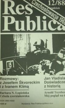 Res Publica Czechosłowacja 1968 12/88