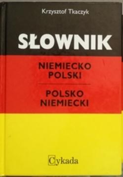 Słownik niemiecko-polski polsko-niemiecki + gramatyka /9845/