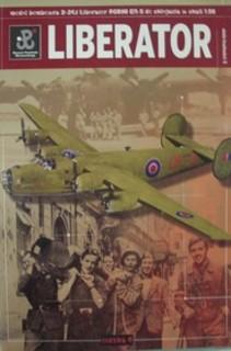 Model bombowca D-24J Liberator