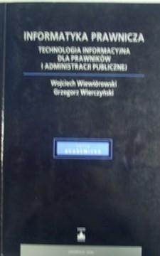Informatyka prawnicza /10190/