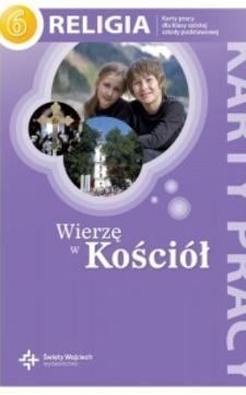Wierzę w kościół karty pracy kl. 6 /112574/