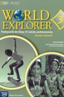 World explorer 3 Angielski kl. 6 Ćwiczenia
