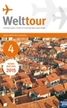 Welttour 4 j. niemiecki podręcznik z ćwiczeniami /9407/