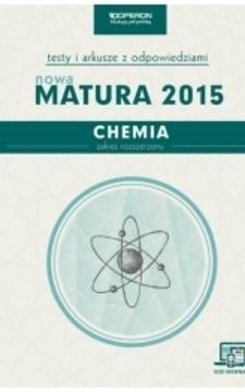Testy Chemia Nowa matura 2015 ZR /5782/