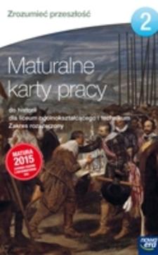 Zrozumieć przeszłość 2 Maturalne karty pracy ZR /5788/