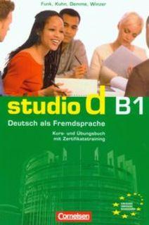 Studio d B1 Kurs und Ubungsbuch + CD Podręcznik z ćwiczeniami