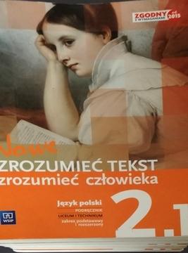 Nowe zrozumieć tekst zrozumieć człowieka 2/1 /20424/