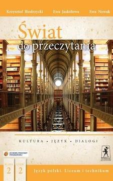 Świat do przeczytania 2 część 2 Język polski LO Podr. /9128/