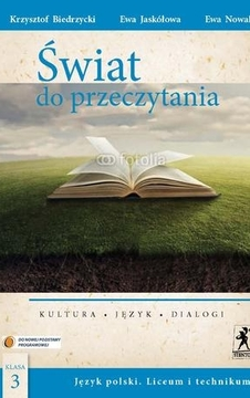 Świat do przeczytania 3 Język polski LO Podr. /9129/