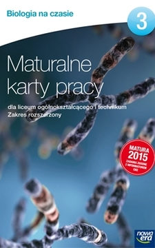 Biologia na czasie 3 ZR Maturalne karty pracy /9100/