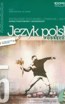 Odkrywamy na nowo Język Polski 5 LO podr.