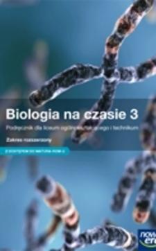 Biologia na czasie 3 ZR Podręcznik /9101/