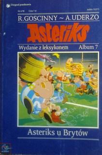 Asteriks u Brytów Wydanie z leksykonem Album 7