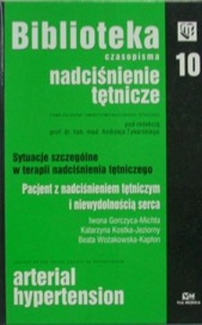 Biblioteka czasopisma 10 Nadciśnienie tętnicze