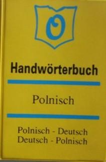 Handworterbuch polnisch Polnisch-Deutsch Deutsch-Polnisch