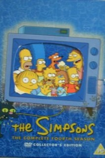 The Simpsons x 4 DVD The complete fourth season