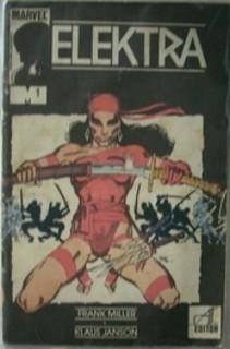 Komiks Elektra cz.1 Ściana