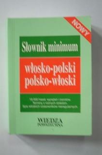 Słownik minimum włosko-polski polsko-włoski