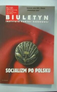 Biuletyn IPN nr 7/2011 Socjalizm po polsku