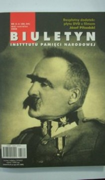 Biuletyn IPN nr 5-6/2008 Józef Piłsudski