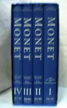 Monet Catalogue Raisonne - Werkverzeichnis I-IV