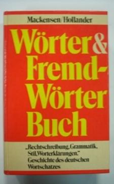 Słownik niemiecki Das Neue Worter & Fremdworter Buch
