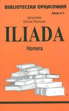 Biblioteczka opracowań 4 Iliada