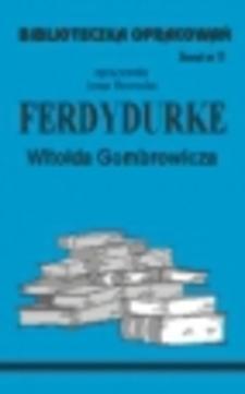 Biblioteczka opracowań 11 Ferdydurke