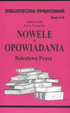 Biblioteczka opracowań 24 Nowele i opowiadania