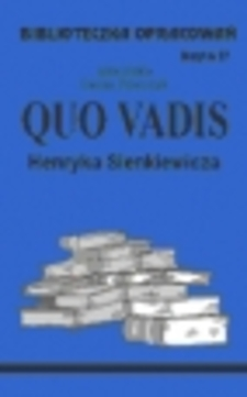 Biblioteczka opracowań 27 Quo Vadis