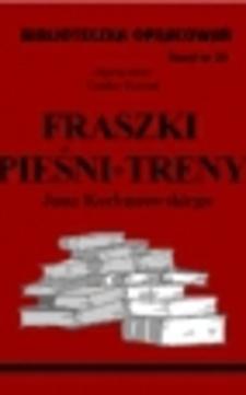 Biblioteczka opracowań 34 Fraszki, pieśni, treny