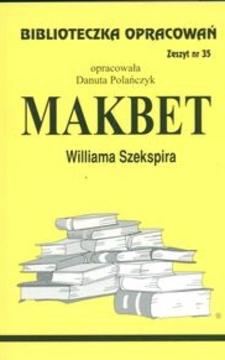 Biblioteczka opracowań 35 Makbet