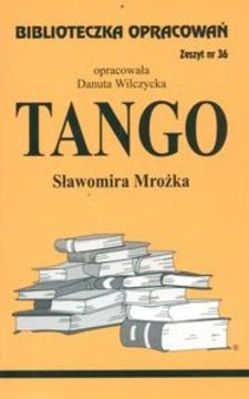 Biblioteczka opracowań 36 Tango
