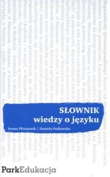 Słownik wiedzy o języku