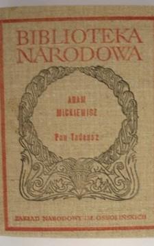 BN Pan Tadeusz czyli ostatni zajazd na Litwie /6825/