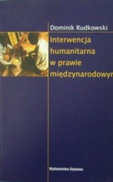 Interwencja humanitarna w prawie międzynarodowym