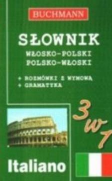 Słownik włosko-polski polsko-włoski 3 w1