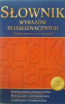 Słownik wyrazów bliskoznacznych /5254/