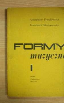 Formy muzyczne I /185/