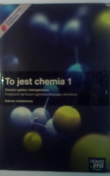 To jest chemia 1 ZR Podręcznik