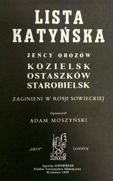 Lista Katyńska