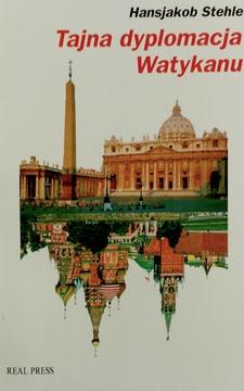 Tajna dyplomacja Watykanu: Papiestwo wobec komunizmu (1917-1991)