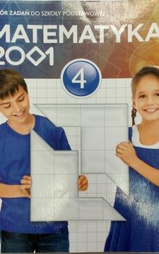 Matematyka 2001 kl 4 Zbiór zadań /20207/