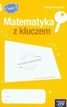 Matematyka z kluczem 4 cz.1 Zeszyt ćwiczeń /20212/