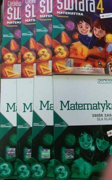 Ciekawi świata Matematyka 4 Podręcznik + Zbiór zadań /20214/