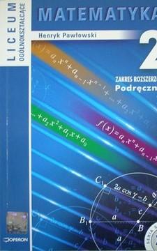 Matematyka 2 LO ZR Podręcznik /20278/