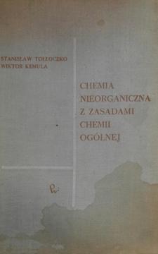 Chemia nieorganiczna z zasadami chemii ogólnej