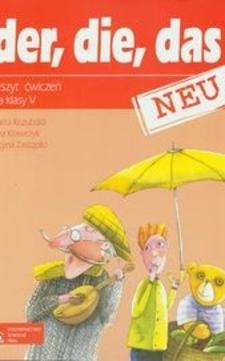 der, die, das NEU 5 Zeszyt ćwiczeń /318/